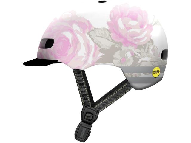 Nutcase Street MIPS Helm, delecate flower reflective